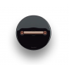 Fontini DO włącznik porcelanowy retro czarny / mosiądz natynkowy