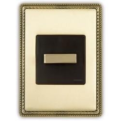 Fontini Venezia włącznik obrotowy uniwersalny złoty