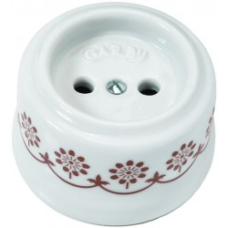 Porcelanowe gniazdko Fontini Garby Blue Decor