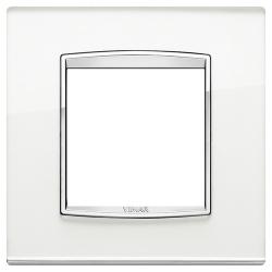 Ramka Vimar Eikon Chrome Classic, Szkło lustro - Silver mirror - 2M