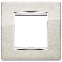 Ramka Vimar Eikon Chrome Classic, Inox - stal nierdzewna szczotkowana,, 2M