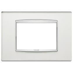 Ramka Vimar Eikon Chrome Classic, Szkło lustro - Silver mirror - 3M