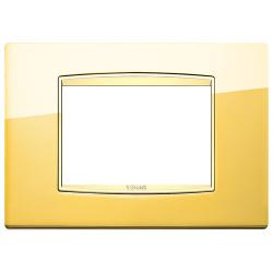 Ramka Vimar Eikon Chrome Classic, Polerowane złoto, metal rafinowany, 3M