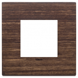 Ramka ozdobna, lite drewno, 2M, Eukaliptus, Vimar Eikon EXÉ
