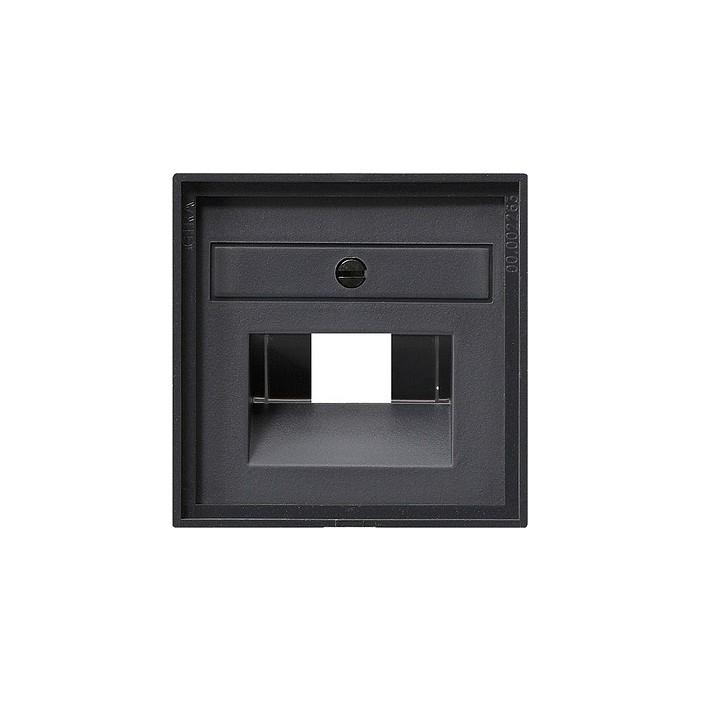 Gniazdo internetowe kat.5 ekran. podwójne antracytowe System 55 GIRA