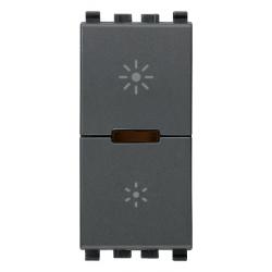 Ściemniacz, MASTER, 230V, 400-400W, 1M, antracyt, Vimar EIKON