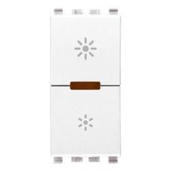 Dimmer, MASTER, 230V, 400-400W, 1M, biały, Vimar EIKON