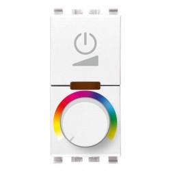 Sciemniacz RGB z potencjometrem, 230V, 1M, bialy, Vimar EIKON