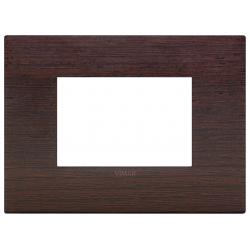 Ramka ozdobna, lite drewno, 3M, Wengé, Vimar Eikon Arké Classic