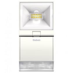 Reflektor LED z czujnikiem ruchu, biały, theLeda S10, Theben