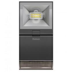 Reflektor LED z czujnikiem ruchu, czarny, theLeda S10, Theben