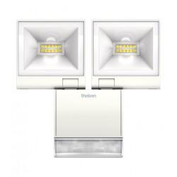 Reflektor LED z czujnikiem ruchu, czarny, theLeda S20, Theben