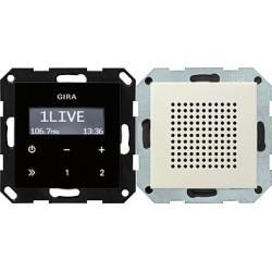 Radio pt. RDS System 55 kremowy GIRA
