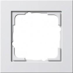 Ramka pojedyncza Gira E2 biały połysk GIRA E2