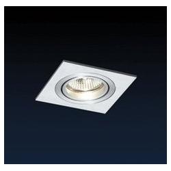 Lampa podtynkowa pojedyncza VENEZINA ALU-square