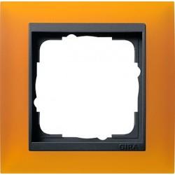 Ramka pojedyncza Gira Event Opaque mat. bursztynowy