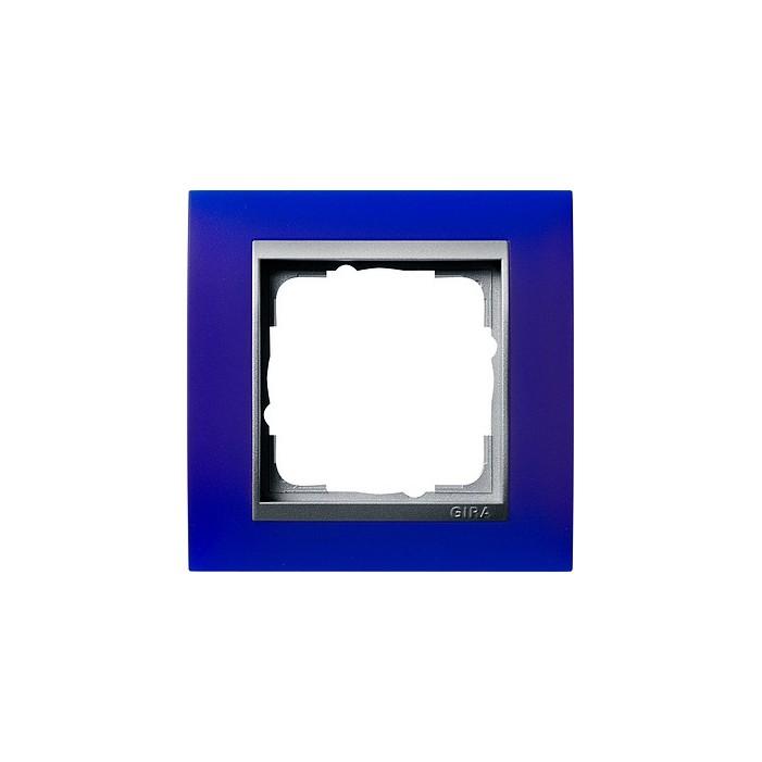 Ramka pojedyncza (do aluminiowych środków), Gira Event Opaque niebieski