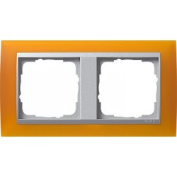 Ramka podwójna Gira Event Opaque mat. bursztynowy