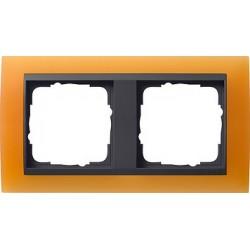 Ramka podwójna Gira Event Opaque pomarańczowa