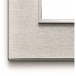 Ramka ozdobna 8(4+4)M aluminium Next grey VIMAR EIKON EVO