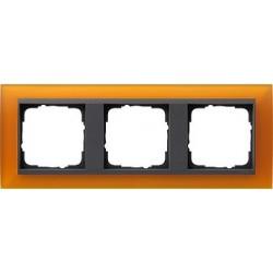 Ramka potrójna Gira Event Opaque mat. bursztynowy