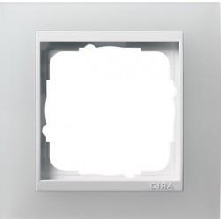 Ramka pojedyncza (do białych środków), Gira Event Opaque biały