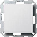 Zaślepka z płytką mocującą biały matowy System 55 GIRA