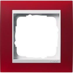 Ramka pojedyncza (do białych środków), Gira Event Opaque czerwony