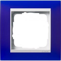 Ramka pojedyncza (do białych środków), Gira Event Opaque niebieski