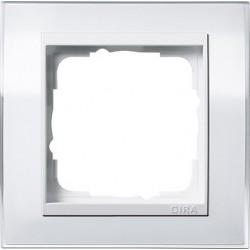 Ramka pojedyncza (do białych środków) Gira Event Clear biały