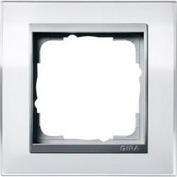 Ramka pojedyncza (do aluminiowych środków) Gira Event Clear biały