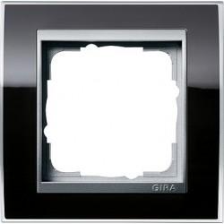 Ramka pojedyncza (do aluminiowych środków) Gira Event Clear czarny