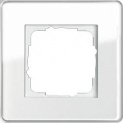 Ramka pojedyncza Gira Esprit Szkło C białe