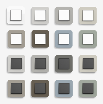 Gira E3 kolory