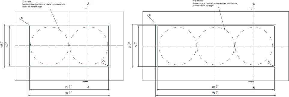 LS zero wymiary montażowe